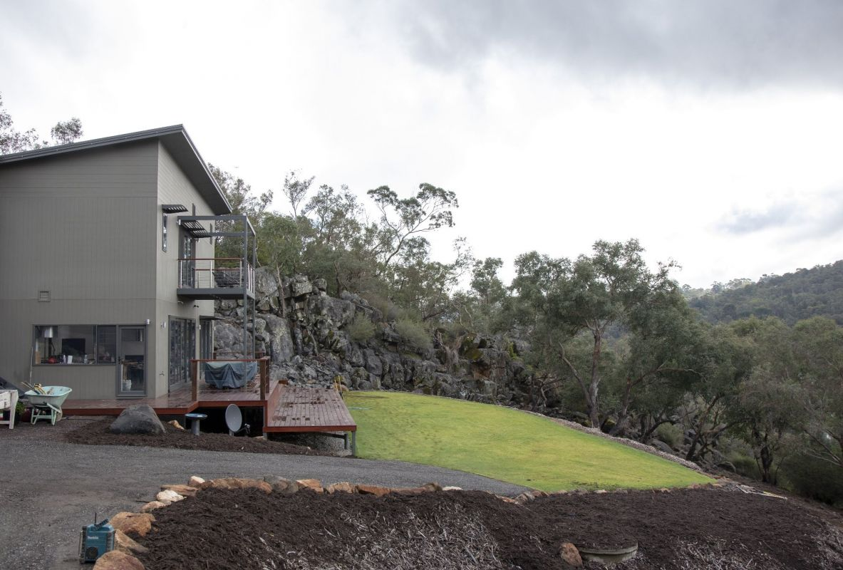 Stormwater Management on Steep Hill Properties
